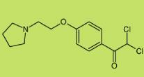 2,2-dichloro-1-(4-(2-(pyrrolidin-1-yl)ethoxy)phenyl)ethanone