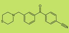 4'-cyano-3-thiomorpholinomethyl-benzophenone